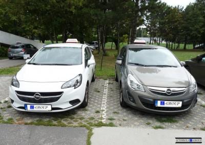 Autoškola L-Group vozidlá
